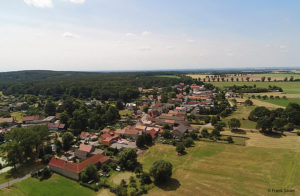Luftbild Linz Sachsen