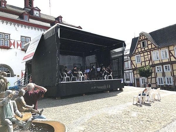 Mobile Bühne Stadt Linz am Rhein