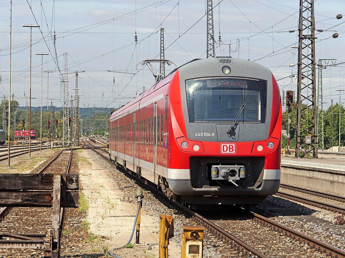 Deutsche Bahn Regionalzug