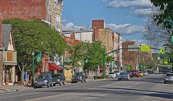 Marietta (Ohio/USA) Innenstadt