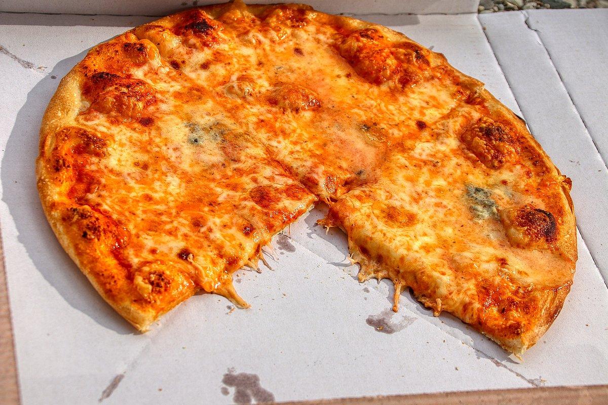 Pizza im Karton