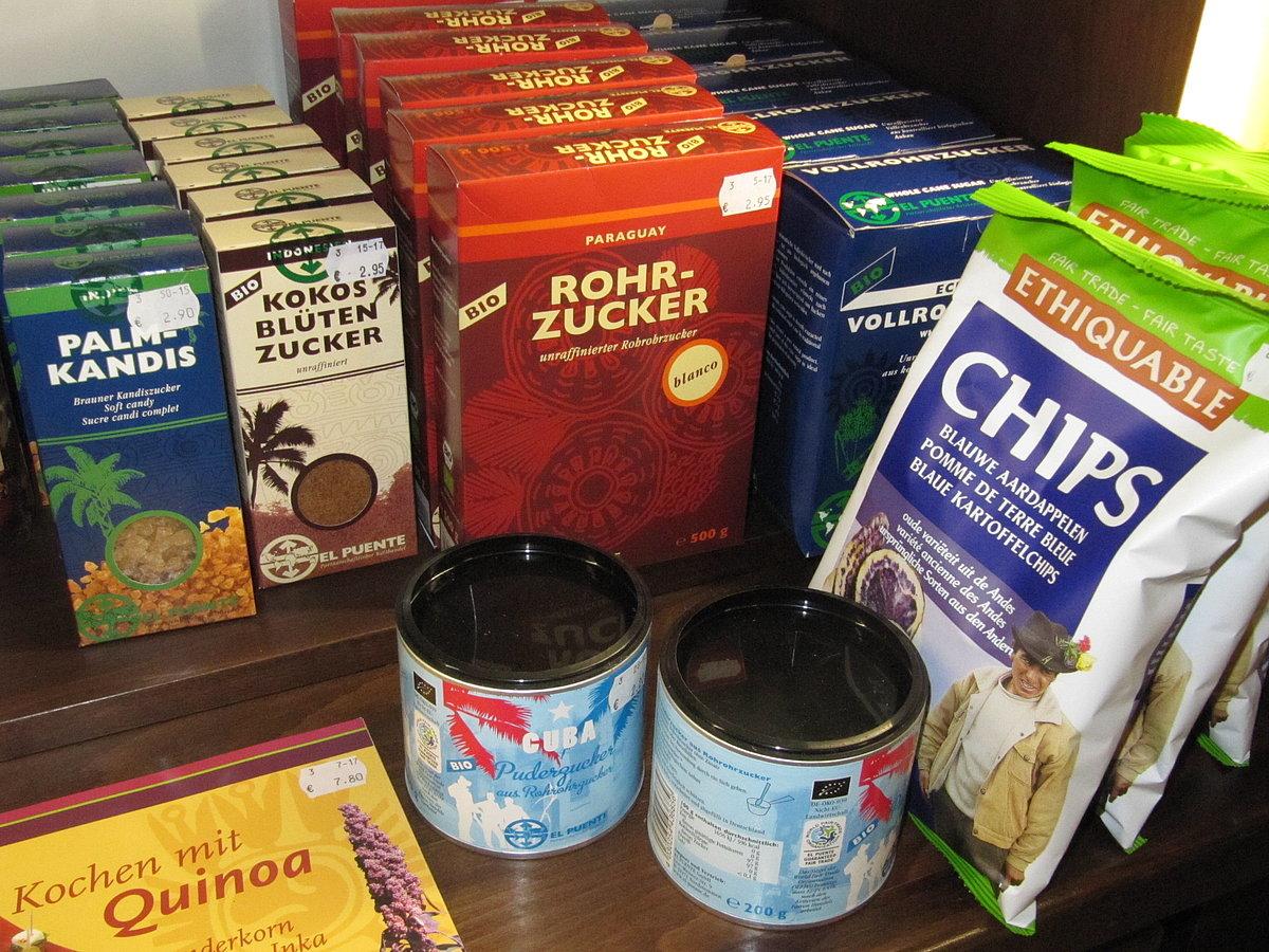 Fair Trade Produkte Weltladen Linz am Rhein