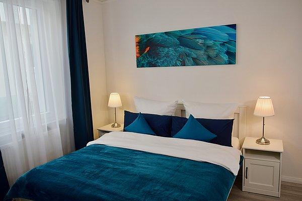 Schlafzimmer Ferienwohnung Im Kleinen Stil 1
