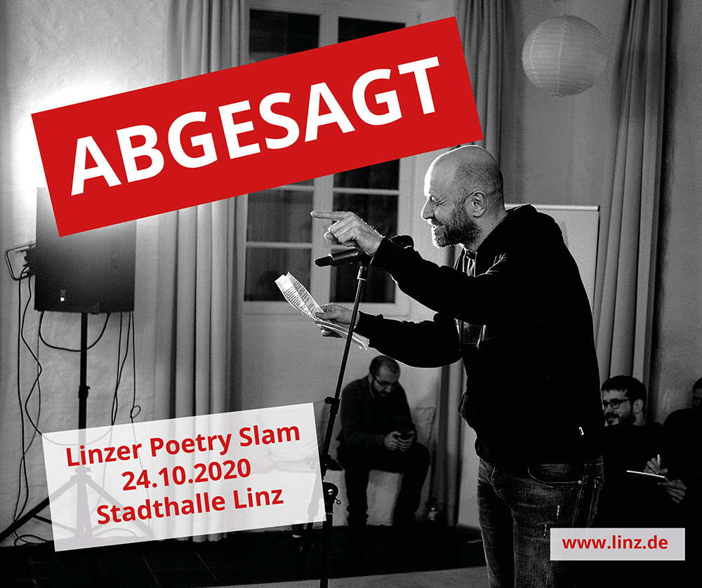 Absage Poetry Slam Linz